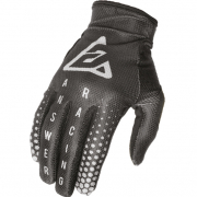 Answer AR-1 Kids Swish Black Nickel Charcoal Gloves