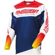 Answer Syncron Charge Air Pink Pro Yellow Midnight Jersey