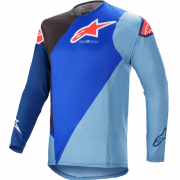 Alpinestars SuperTech Blaze Blue Black Jersey