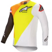 Alpinestars SuperTech Blaze Fluo Yellow White Jersey
