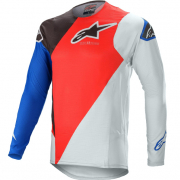Alpinestars SuperTech Blaze Bright Red Blue Jersey