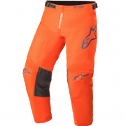 Alpinestars Kids Racer Blaze Orange Dark Blue Pants
