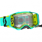 Scott Prospect WFS Teal Yellow Clear Roll Off Goggles