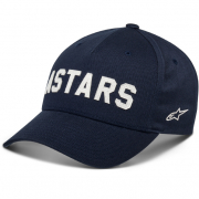 Alpinestars Applied Navy Snap Back Curved Cap