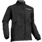 Thor Waterproof Pack Jacket - Black Charcoal