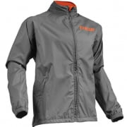 Thor Waterproof Pack Jacket - Charcoal Orange