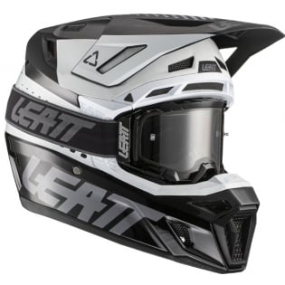 Leatt 8.5 V21.1 Black White Helmet