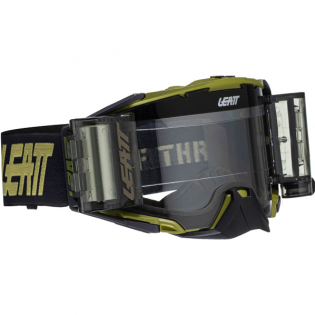 Leatt 6.5 Velocity Sand Clear Lens Roll Off Goggles