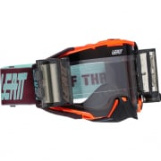 Leatt 6.5 Velocity Neon Orange Clear Lens Roll Off Goggles