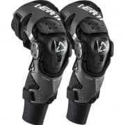 Leatt X Frame Hybrid Black Knee Braces