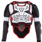 Acerbis Galaxy White Black Body Armour