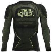 Acerbis X-Fit Future Black Yellow Fluo Body Armour