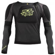 Acerbis X-Air Black Yellow Fluo Body Armour