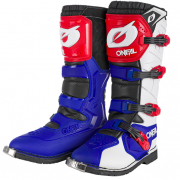 ONeal Rider Pro Blue Red White Boots