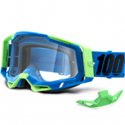 100% Racecraft 2 Freemont Clear Lens Goggles