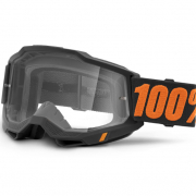 100% Accuri 2 Kids Chicago Clear Lens Goggles
