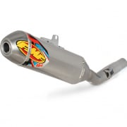FMF Q Series Quiet Core Stainless Slip On Silencer Husqvarna FC
