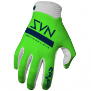 Seven MX Zero Contour Flo Green Gloves