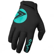 Seven MX Zero Cold Weather Black Aqua Gloves
