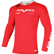 Seven MX Rival Rampart Flo Red Jersey