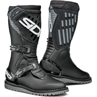 Sidi Zero.2 Trials Boots - Black