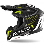 Airoh Aviator 3 Primal Carbon 3K Yellow Matt Helmet