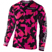 Troy Lee Designs Kids GP Air Confetti Pink Black Jersey