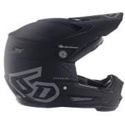 6D ATR-2Y Youth Solid Matte Black Helmet