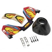 FMF Replacement 4 Stroke Exhaust Carbon End Cap Kit