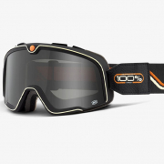100% Barstow Team Speed Smoke Lens Goggles