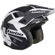Hebo Zone 4 Fibre Balance Grey Trials Helmet