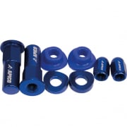 Apico Factory Anodised Blue Wheel Bling Pack