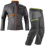 Acerbis Enduro One Enduro Suit - Black Fluo Orange & Fluo Yellow