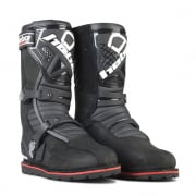 Hebo Tech 2.0 Black Leather Trials Boots