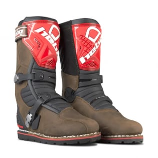 Hebo Tech 2.0 Brown Leather Trials Boots