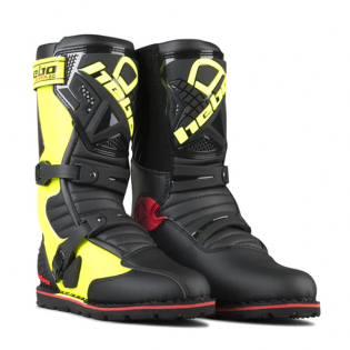Hebo Tech 2.0 Micro Black Lime Trials Boots