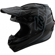 Troy Lee Designs Kids GP Silhouette Black Grey Helmet