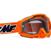 100% FMF Powerbomb Enduro Rocket Yellow Clear Lens Goggles