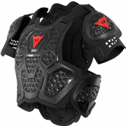 Dainese MX2 Roost Guard Black Chest Protector
