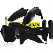 Acerbis Plastic Kit - Gas Gas MCF - Black