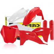 Acerbis Plastic Kit - Gas Gas MCF - Red White