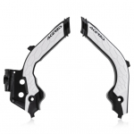Acerbis Gas Gas X-Grip Frame Guards - Black White