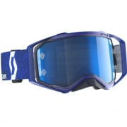Scott Prospect Six Days Italy Edition Electric Blue Chrome Goggles