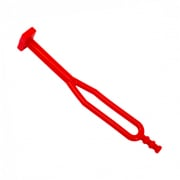 Apico Rubber Sidestand Tie - Red