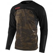 Troy Lee Designs Scout SE Systems Camo Green Enduro Adventure Jersey
