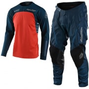 Troy Lee Designs Scout SE Systems Marine Enduro Adventure Kit Combo