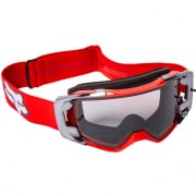 Fox Racing Vue Stray Flou Red MX Goggles