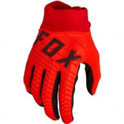 Fox Racing 360 Flou Red Gloves