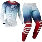 Fox Racing Airline Reepz White Red Blue Kit Combo