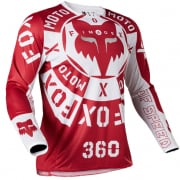 Fox Racing 360 Nobyl Red White Jersey